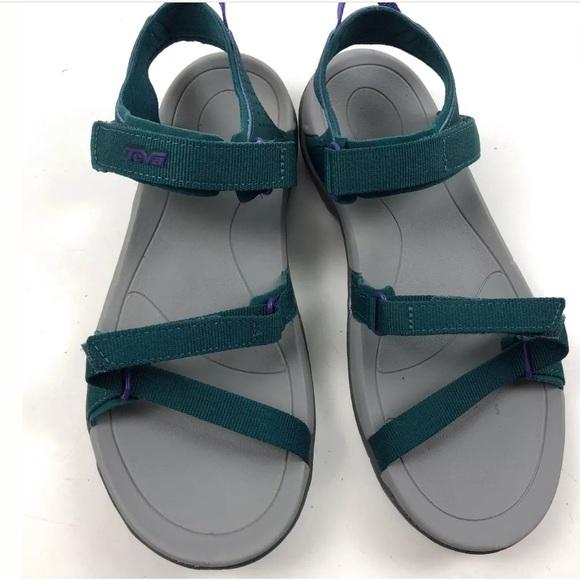 b8cd373df Teva Verra Sandals SZ 7 Outdoor Hiking Teal NWOB